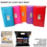 DOMPET WANITA CASUAL D16 KEY JELLY SERAT ORANGE3