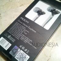 ORIGINAL 100% Rock Zircon RAU0501 + mic Earphone IEM Headset Stereo