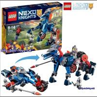 Jual LEGO NEXO Knights-70312 Lance's Mecha Horse Set Robot Toy Knight Lance Murah