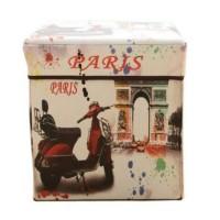 Storage Box SCOOTER PARIS / Tempat Mainan / Majalah / Kursi Organizer