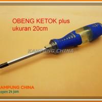 """Obeng Ketok 8"""" (20 Cm) Mata PLUS (+) Ready Stock"""