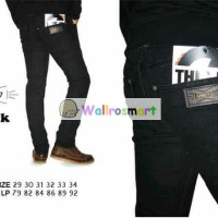 CELANA APRIL 77 SKINNY BLACK / JEANS APRIL77 HITAM / CELANA DENIM
