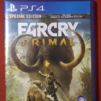 kaset game bd ps4 ps 4 2nd bekas farcry primal far cry