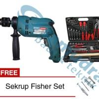 Paket Mesin Bor Tembok MODERN M-2150 + Tool Kit KENMASTER + Sekrup