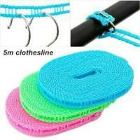 Tali Jemuran 5 Meter / Clothes Line Laundry / HANGER / GANTUNGAN BAJ