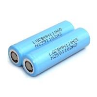 LG 18650 Li-ion Battery 3200mAh 3.7V With Flat Top - Blue