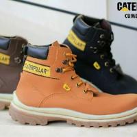 Sepatu Pria Boots CAT Cumbria Series Safety Leather