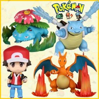 Pokemon Figure Charizard Blastoise Venusaur Thousand Sunny Dota Luffy