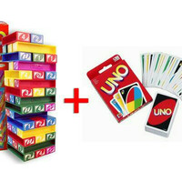 harga KHUSUS GO-SEND PAKET 10 PACK UNO STACKO + KARTU UNO , BARU . Tokopedia.com