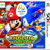 3DS Mario & Sonic At The Rio 2016 Olympic Games (Usa / As Limited