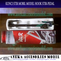 Kunci Stir Mobil Datsun Go Model Hook Stir-Pedal Luxury Berkualitas