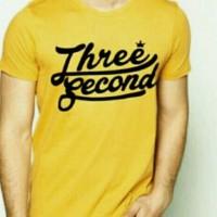 Kaos Pria Tshirt Big Size (Xxxl) THREE SEACOND