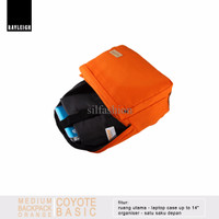 Rayleigh COYOTE BASIC ORANGE / Backpack Laptop Kuat, Ringan & Keren