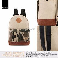 Rayleigh COYOTE CAMO MINI BACKPACK BEIGE / Tas Ransel Loreng Kecil