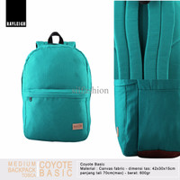 Rayleigh COYOTE BASIC TOSCA / Backpack Laptop Kuat, Ringan & Keren