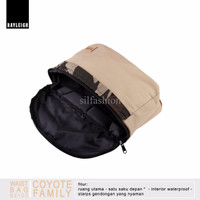 Rayleigh COYOTE WAISTBAG BEIGE / Tas Pinggang Vintage / Hip Bag Mini