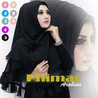 EXCLUSIVE Hijab / Jilbab Instant Khimar Arabian MURAH MERIAH