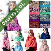 PROMO Hijab / Jilbab Khimar Satin Risty LARIS