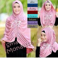 PROMO Hijab / Jilbab Syria Krezia / Monalissa Premium TERMURAH