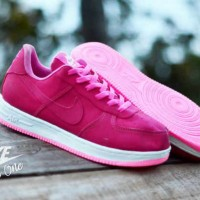 Sepatu Nike Force One Low Pink