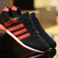 Sepatu Adidas For Man Black Orange