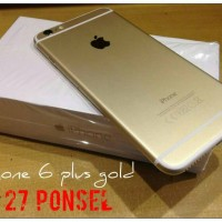 Apple IPhone 6 Plus Gold Internal 16 Gb / Refurbish-Grs Distri 1 Th