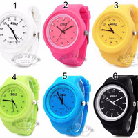 ZGO 6056 Jelly - Silicone - Rubber Watch (Jam Tangan Silikon - Karet)