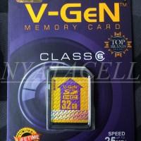 Memory Vgen SD Card 32GB Class 6/32 GB Original / Kamera / Memori / SDCard
