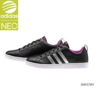 Adidas Neo Advantage Original VS Black Silver Leather