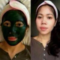 Masker Lumpur Hijau | Masker Spirulina