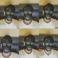 Masker Spirulina | Masker Lumpur Hijau Biru
