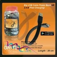 KABEL Charger POWERBANK 2.4A SAMSUNG, ASUS, XIAOMI (Fast Charging)
