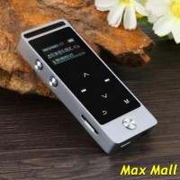Benjie Mp3 Digital Audio Player Touch Screen 8GB With FM Radio - Silve