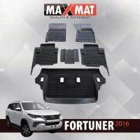 Karpet Lantai Mobil Karet 3D Khusus All New Fortuner 2016