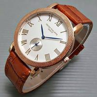 LIMETED LIMETED Jam Tangan Pria / Cowok Luxury Patek Phillipe Leather