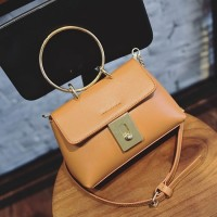 TF1406 Tas Korea Selempang Best Quality Leather (Coklat)