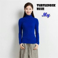 Jual Grosir Turtleneck Spandek Coco/Turtleneck Spandek Blue Murah