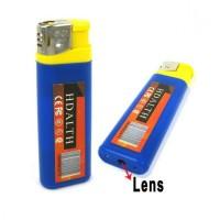 Kamera Pengintai Korek / Spy Cam Lighter Biru/Kuning