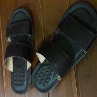 Sendal / Sandal Kulit Merk Playboy Original Ori Asli