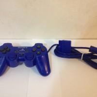 Stik / Stick PS2 Original Pabrik (Tekken) - Biru