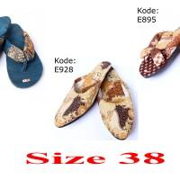 SANDAL BATIK JEPIT / SLOP SIZE 38