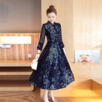 Gaun Pesta Import Gaun Malam Party Dress Cheongsam 1612024