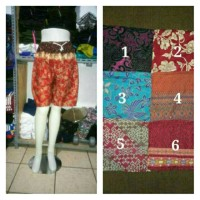 Celana Pendek Batik Pria Wanita