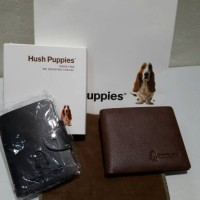 DOMPET Hush Puppies ORIGINAL - GENUINE LEATHER (FREE CARD HOLDER)