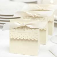 harga 12pc Sweet Ivory Favor Box Souvenir Wedding Bridal Shower Vintage Tokopedia.com