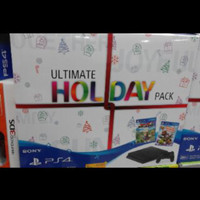 SONY PS4 SLIM ULTIMATE HOLIDAY PACK CUH 2006A GARANSI RESMI NO GAME