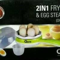 Jual Fry Pan & Egg Steamer/ Egg Boiler Oxone OX-181FE Murah