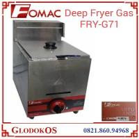 Mesin Penggoreng Gas Deep Fryer Fomac fry-g71
