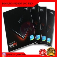 """SAMSUNG SSD 256 GB 850 PRO 2.5 """" GARANSI 10THN JAMINAN ORIGINAL"""