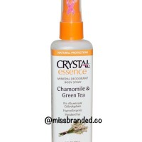 Jual Crystal Body Deodorant Body Spray Chamomile & Green Tea 118ml Murah